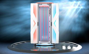 Aparat de bronzat Ergoline Sunrise 7200 Hybrid LED