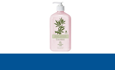 Creme de bronzat Product Line - Hemp nation - Pomaberry