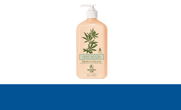 Creme de bronzat Product Line - Hemp nation - Tropical colada